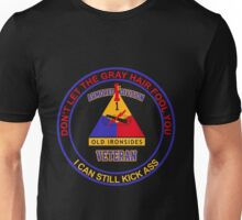Military - 1st Ad Gray Hair Unisex T-Shirt