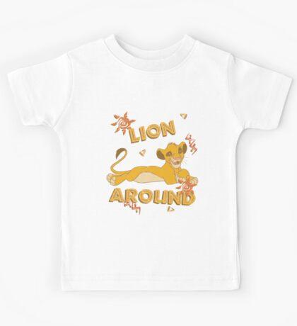 Simba - Lion King - Lion Around Kids Tee