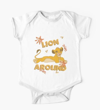 Simba - Lion King - Lion Around One Piece - Short Sleeve