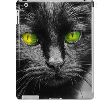 Black Cat iPad Case/Skin