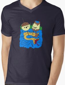 Princess Bubblegum's rock Mens V-Neck T-Shirt