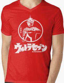 Retro Tokusatsu Ultra seven Ultraman 7 Mens V-Neck T-Shirt