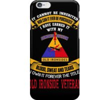 Military - 1st Ad The Title iPhone Case/Skin