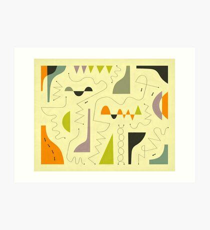 ACID TEST Art Print