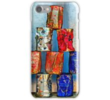Soup Cans - After The Lunch iPhone Case/Skin
