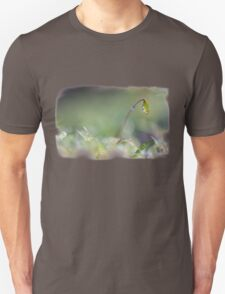 Sparkling moss in the forest Unisex T-Shirt