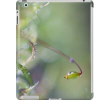 Sparkling moss in the forest iPad Case/Skin