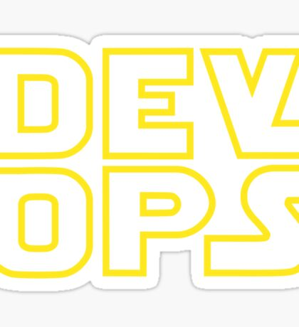 DevOps - Star Wars style Sticker