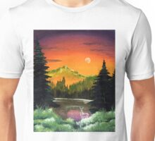 """Black Lake"" Unisex T-Shirt"