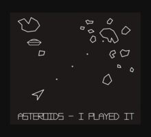 Asteroids Arcade Game One Piece - Short Sleeve