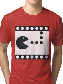 Pac-Mac Movie Film Tri-blend T-Shirt