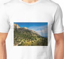 The slopes of Cabezón del Oro Unisex T-Shirt