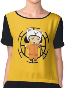 Trafalgar Law- One piece chibi Chiffon Top