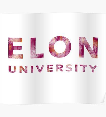 Elon University Poster