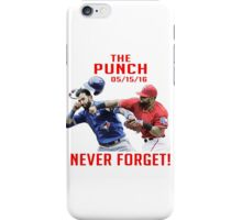 the punch 05/15/16 iPhone Case/Skin