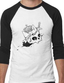 Queen Cat Men's Baseball ¾ T-Shirt