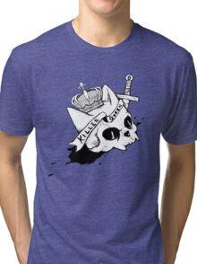 Queen Cat Tri-blend T-Shirt