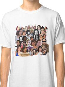 Aubrey Plaza collage  Classic T-Shirt
