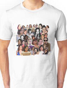 Aubrey Plaza collage  Unisex T-Shirt