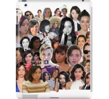 Aubrey Plaza collage  iPad Case/Skin