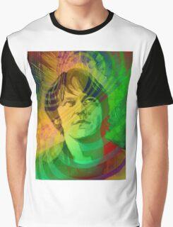 Elliott Smith Figure 8 Psychadelic Graphic T-Shirt