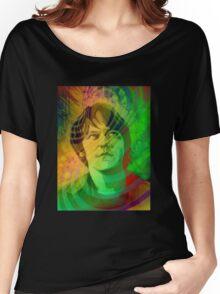 Elliott Smith Figure 8 Psychadelic Women's Relaxed Fit T-Shirt