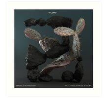 Flume | Smoke & Retribution Ft. Vince Staples Art Print
