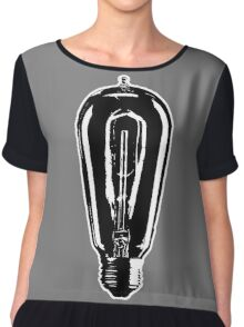 Filament Tattoo Co. Bulb Chiffon Top