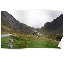 Honister Pass, Lake District National Park, UK Poster