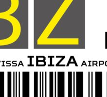 Destination Ibiza Airport Sticker