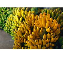 Bananas at night Photographic Print