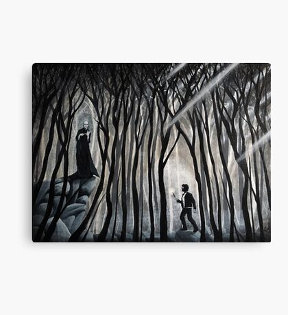 """The Forbidden Forest"" Canvas Print"