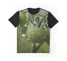 Green Tomato Macro (1) Graphic T-Shirt