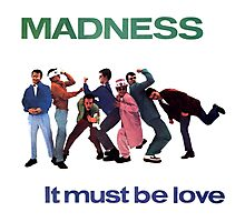 MADNESS : IT MUST BE LOVE Photographic Print