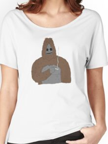 SASSY the Sasquatch   Big Lez Show   Official Women's Relaxed Fit T-Shirt