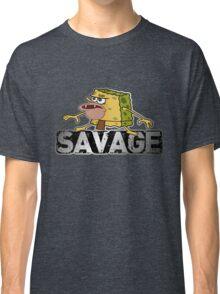 cave man savage spongebob Classic T-Shirt