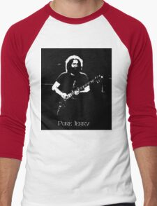 "Jerry Garcia- ""Pure Jerry"" Grateful Dead 1978 Men's Baseball ¾ T-Shirt"
