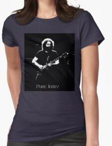 """Jerry Garcia- """"Pure Jerry"""" Grateful Dead 1978 Womens Fitted T-Shirt"""