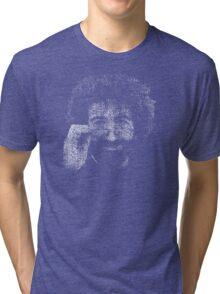 "Jerry Garcia ""Dark Star"" Text Image - Grateful Dead Tri-blend T-Shirt"