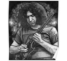 "Jerry Garcia - ""Young Dark Star"" 1967 Grateful Dead Poster"
