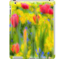 Pastel Summer Flowers  iPad Case/Skin