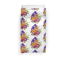 Floral Graphic Design Duvet Cover