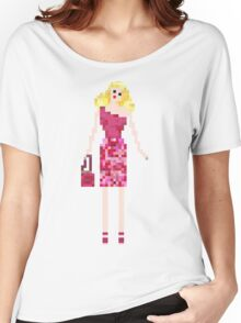 GLAMOROUS BLONDE DOLL Women's Relaxed Fit T-Shirt