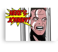 Here's Johnny! Metal Print