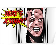 Here's Johnny! Poster