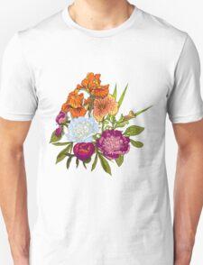 Floral Graphic Design Unisex T-Shirt