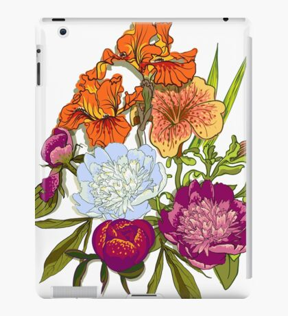 Floral Graphic Design iPad Case/Skin
