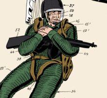 Combat Suit Patent - Colour Sticker
