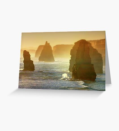 In morning mist Greeting Card