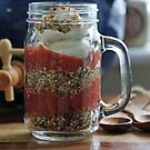 Layered Muesli Breakfast by Astrid Ewing Photography
